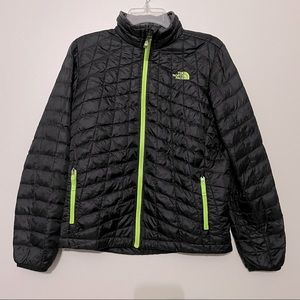 The North Face Black Puffer Down Jacket Size L